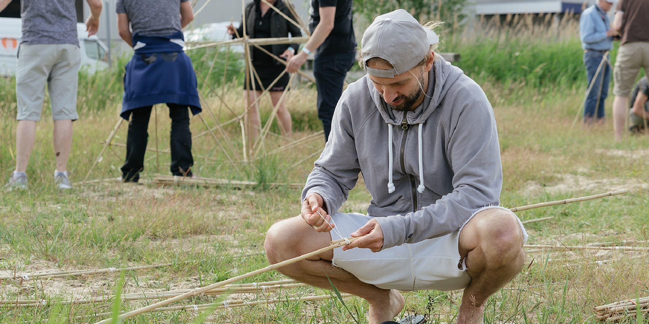 Bamboe Challenge Bedrijfsuitje Amsterdam