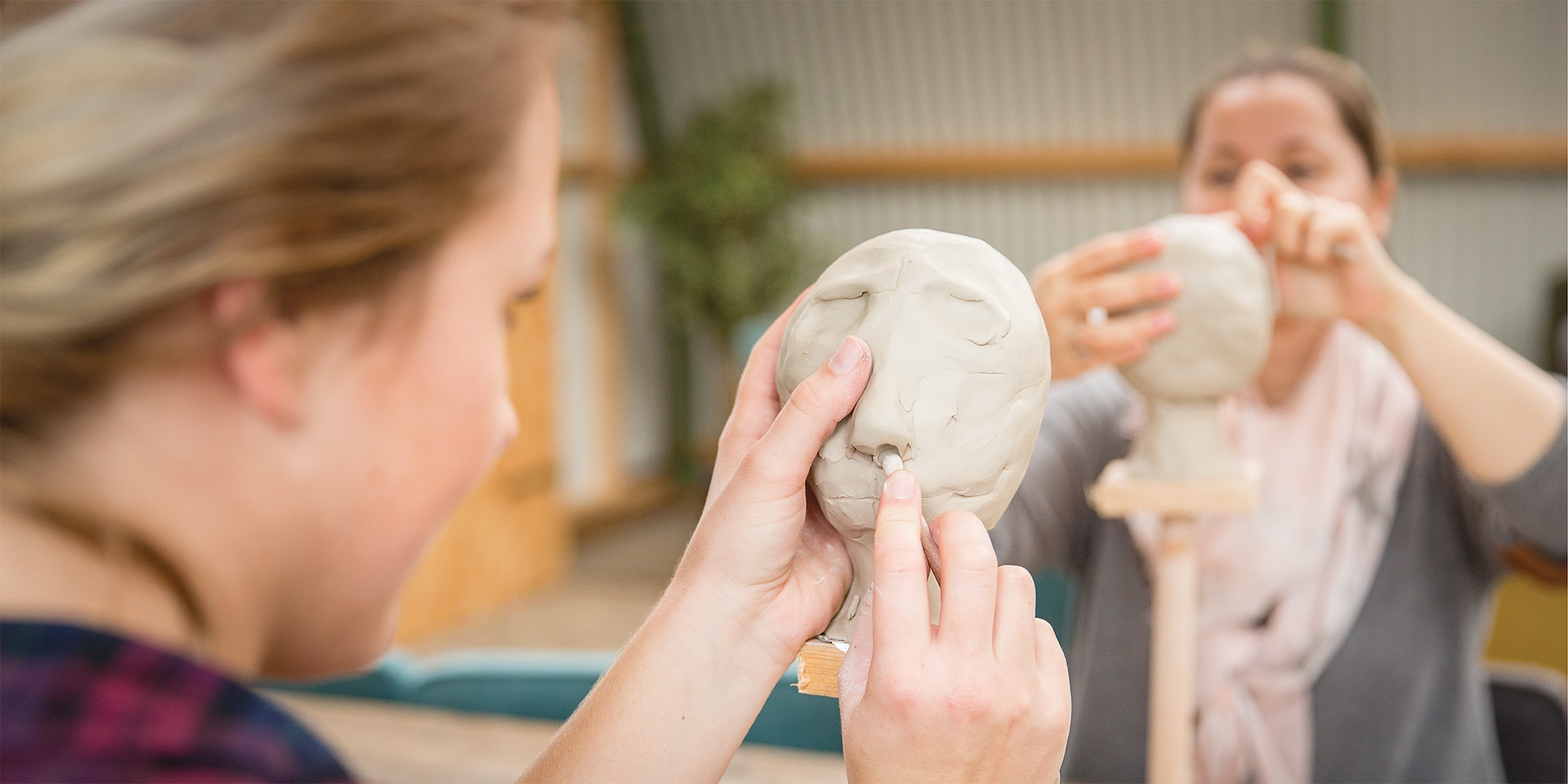 Clay Head Sculpting workshop Amsterdam