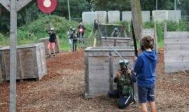 Archery Tag Kinderfeestje Amsterdam